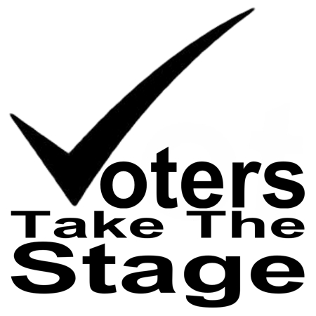 Voters Take The Stage logo